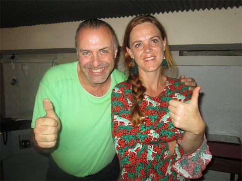 Rudy Gybels en Elleke Van Win