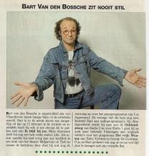 Artikel: Bart Van den Bossche