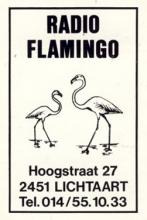 Radio Flamingo Lichtaart