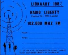 Radio Liberty lidkaart