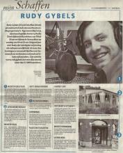 Artikel: Mijn Schaffen - Rudy Gybels