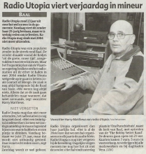 Bron: Het Laatste Nieuws, 18 januari 2006
